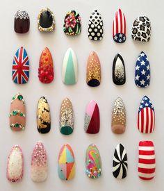 Nail art ideas - DIY Nails - Nail designs - nail art - nails - nailart how to - nail art tutorial Get Nails, Love Nails, Pretty Nails, Hair And Nails, Acrylic Nail Art, Acrylic Nail Designs, Manicure Gel, Nail Gel, Uv Gel