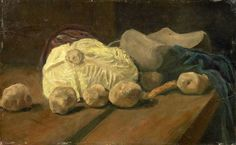 Still Life with Cabbage and Clogs Vincent van Gogh - 1881