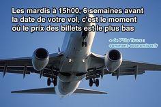 Quand faut-il acheter son billet d'avion pour le payer moins cher ?  C'est une bonne question.  Découvrez l'astuce ici : http://www.comment-economiser.fr/quand-acheter-son-billet-avion.html