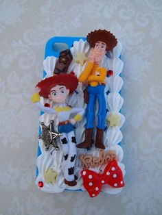 Toy Story Woody & Jessie Inspired iPhone 4 by yelenasCraftsXO, $40.00