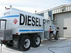 diesel delivery truck