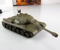 Fabbri 1:72 IS-3 Joseph Stalin tank diecast model №16 Russia USSR Soviet Tanks