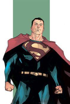 Superman Sketch 2 - Colored by *rafaelalbuquerqueart on deviantART