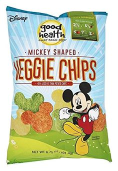 Good Health Natural Foods - Veggie Chips Mickey Mouse Shaped - 6.75 oz(pack of 2)