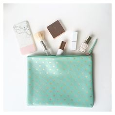 The P E R F E C T pouch to keep your makeup bit & bobs organised  these pouches are available in 2 colours on the  website now  pennyrosehomegifts.co.uk