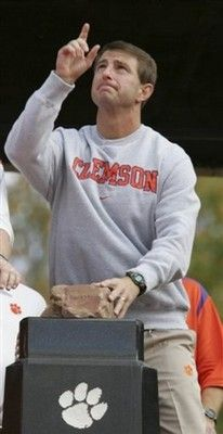 Coach Dabo Swinney the most precious coach :)