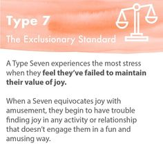 What is one practical way you choose to let go of this desire for control on a daily basis? We'll answer first: Zach (Type — I… Personality Assessment, Personality Types, Type 7 Enneagram, Enfp, Finding Joy, Mbti, Cute Quotes, Interior Design Living Room, Psychology