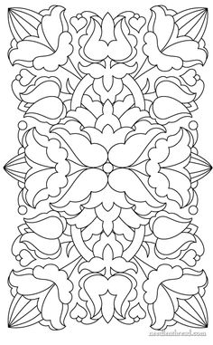 Embroidery Pattern - Hungarian