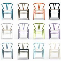 Designikon i hele farveskalaen - Thorsen Møbler Garden Cafe, Inspired Homes, Modern Classic, Dining Chairs, New Homes, Colours, Interior Design, House, Inspiration