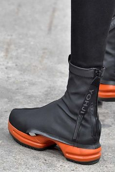 21fcbb4215a Y3 Paris Menswear Fall Winter 2016 January 2016 Yohji Yamamoto Shoes