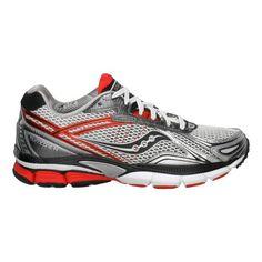 0ba92e13 Men's Saucony PowerGrid Hurricane 14 Running Shoe - White/Red 13 Nike Free  Men,