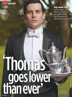 Downton Abbey Season 6 .. Thomas ..