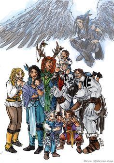 A special tribute to Vox Machina Critical Role Characters, Critical Role Fan Art, Fictional Characters, Stanley Parable, Little Big Planet, Night In The Wood, Vox Machina, D&d Dungeons And Dragons, Voice Actor