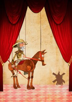 Main image for the Opera Don Quijote (versioned for children) for the Auditorio Adán Martín, Tenerife.