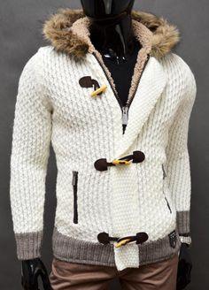 NOWOŚĆ! Gruby Ciepły Sweter CIPO BAXX