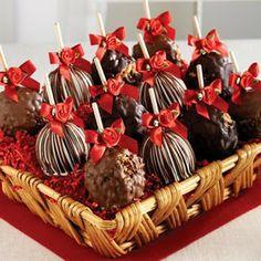 Recheio Mania: FAÇA & VENDA - Maçã do Amor de Chocolate
