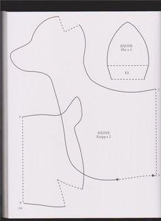 Desing by Elion: Тильда Олень из книги Tone Finnanger «Tildas Vintereventyr»