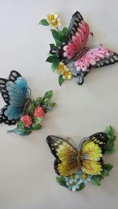 Rölyef kelebekler-Sümbül Eldek