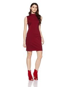 US Polo Association Women s Cotton Cut-Out Dress  Amazon.in  Clothing    Accessories 42f2a9ea3