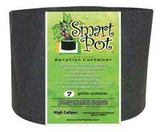 Smart Pot Black 7 Gallon w/ handles (50/Cs)