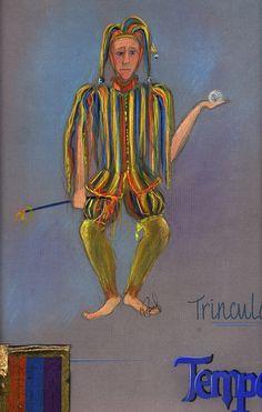 TRINCULO/Tempest by Elizabeth Popeil