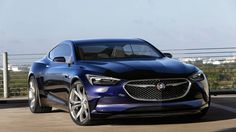 Концепт купе Buick Avista 2016 / Бьюик Ависта 2016 – вид спереди