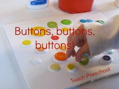 Buttons, buttons, and more buttons with Pete the Cat
