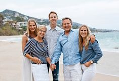 DAVIS/OLSON FAMILY {laguna beach family photographer} white, shades of blue, pop of coral I like this pose for parents and adult kidswhite, shades of blue, pop of coral I like this pose for parents and adult kids