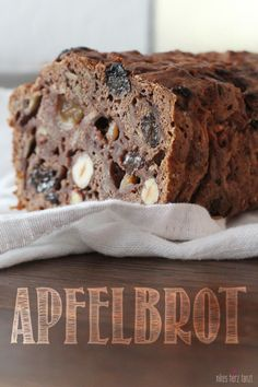 Apfelbrot! Tried! Very very tasty indeed and easy to make too! Remember!