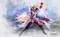 Aion Sorcerer__ главная страница игры aion