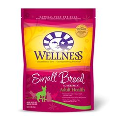 #Wellness Adult Health Super5Mix Small Breed Adult #Dry #DogFood $13.86 to 31.25 at petsplususa.com