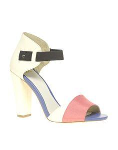 Enlarge ASOS HAYDEN Heeled Sandals with Ankle Strap