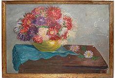 Chrysanthemums Still Life  love the colors