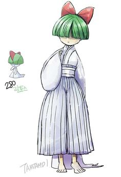 Anime Ralts is listed (or ranked) 6 on the list 38 Incredible Drawings of Pokemon Re-Imagined as Humans Pokemon Memes, Pokemon Fan Art, O Pokemon, Pokemon Comics, Pokemon Tattoo, Pokemon Funny, Pokemon Cards, Pokemon Cosplay, Pokemon Costumes