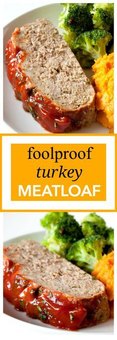 Turkey Meatloaf Fool Proof Turkey Meatloaf recipe that turns out tender and full of flavor every single time! 255 calories per serving!Fool Proof Turkey Meatloaf recipe that turns out tender and full of flavor every single time! 255 calories per serving! Healthy Recipes, Cooking Recipes, Healthy Meatloaf Recipes, Low Sodium Turkey Meatloaf Recipe, Turkey Meat Loaf Recipe, Turkey Meatloaf Gluten Free, Turkey Burger Recipes, Cooking Cake, Cheap Recipes