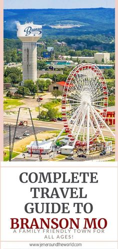 Your Complete Guide to Visiting Branson Missouri - Jen Around the World Usa Travel Guide, Travel Usa, Need A Vacation, Vacation Ideas, Vacation Trips, Vacation Spots, Branson Vacation, Branson Missouri, Fun Places To Go