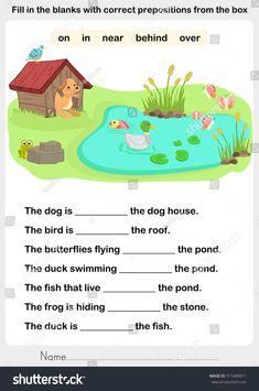 Find Fill Blanks Correct Prepositions Preposition Worksheet stock images in HD and millions of other royalty-free stock photos, illustrations and vectors in the Shutterstock collection. English Activities For Kids, Learning English For Kids, English Lessons For Kids, Kids English, English Language Learning, Learn English Words, Teaching English, Reading Comprehension For Kids, Phonics Reading