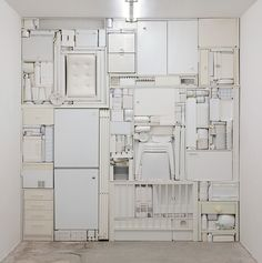 Ghost II, 2009/ White objects/ Michael Johansson