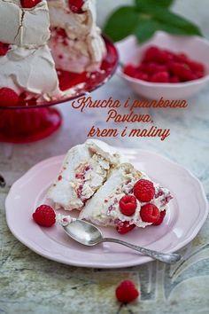 Pavlova cake with raspberries Pavlova Cake, Cheesecake Pie, Trifle, Raspberries, Meringue, Cheesecakes, Delicious Desserts, Cooking Recipes, Cupcakes
