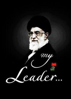 My leaderrr Islamic Images, Islamic Pictures, Islamic Art, Supreme Leader Of Iran, Love In Islam, Tehran Iran, Islamic Wallpaper, Imam Ali, Girls Dp