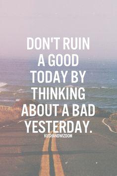 Don't ruin it.