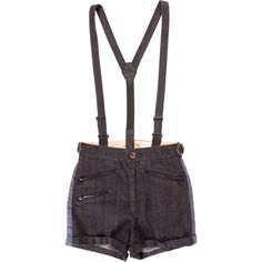 Pre-owned Rag & Bone Shorts ($65) ❤ liked on Polyvore featuring shorts, black, striped shorts, stripe shorts and rag bone shorts