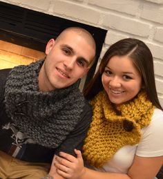 Handmade Cowl Scarves by CozyCabinet on Etsy