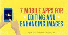 """4 Likes, 1 Comments - Stephen Thomas (@elygantthings) on Instagram: """"Great Read 7 Mobile Apps for Editing and Enhancing Images http://crwd.fr/2nDj1xn…"""""""