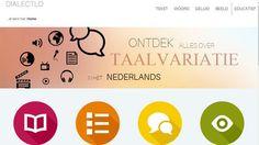 Het dialectloket is een nieuwe website die de variatie in de Nederlandse taal illustreert aan de hand van informatieve teksten, video's en taalkaarten.