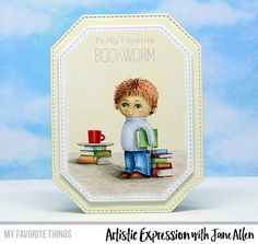 Handmade card from Jane Allen featuring products from My Favorite Things #mftstamps