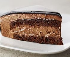 Rich Chocolate Mousse Cake Recipe by Anna Olson : Food Network UK