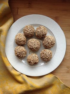 Raw Halvah Cookies | RootedVegan.com by RootedVegan, via Flickr