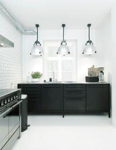 Ideen Für Eine Schwarze Küche