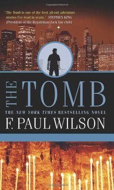 The Tomb (Repairman Jack Novels) by F. Paul Wilson http://www.amazon.com/dp/0812580370/ref=cm_sw_r_pi_dp_3aavub0GBSD63